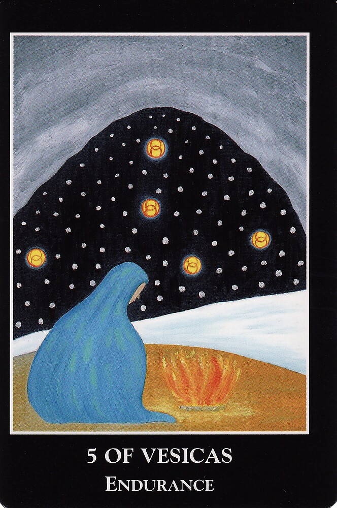 5 of Vesicas - Endurance by Lisa Tenzin-Dolma