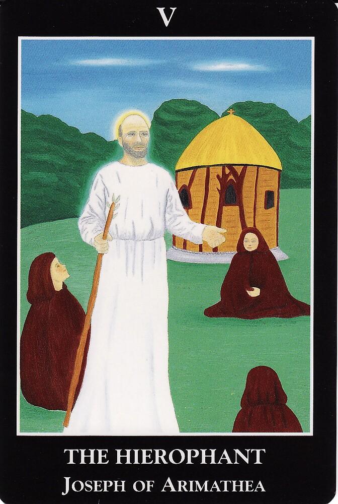 The Hierophant by Lisa Tenzin-Dolma