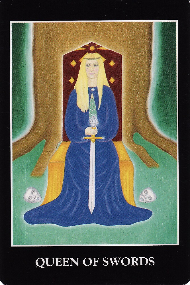 Queen of Swords by Lisa Tenzin-Dolma