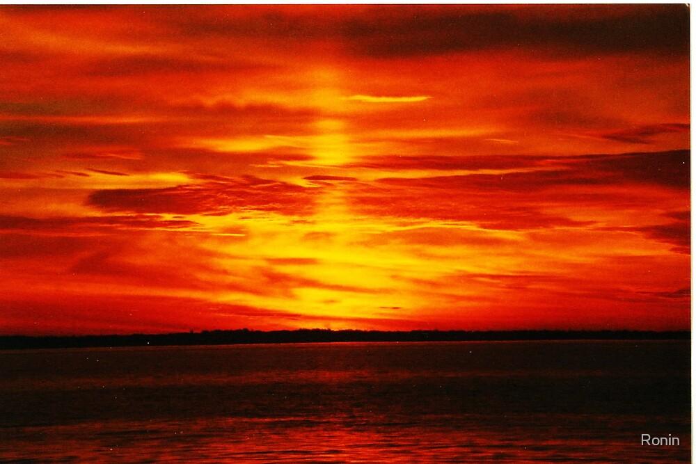 Pier Sunrise II by Ronin