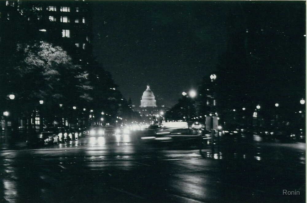 DC at night by Ronin