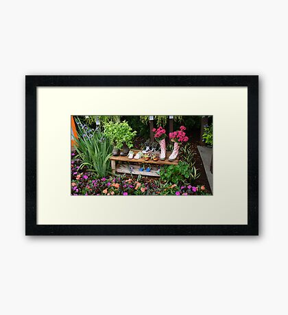Springtime Dancing Framed Print