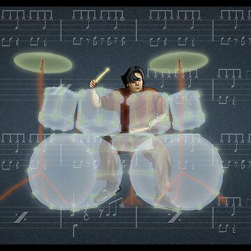 Drummer by mpinzon