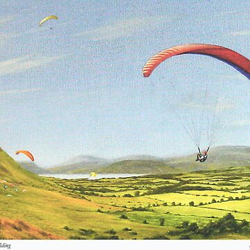 Simon paragliding by briantowers