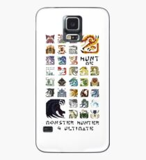 Monster Hunter 4 Ultimate 'Hunt Me' Design Case/Skin for Samsung Galaxy