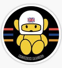 JAMES HUNT F1 TEAM MASCOT Sticker