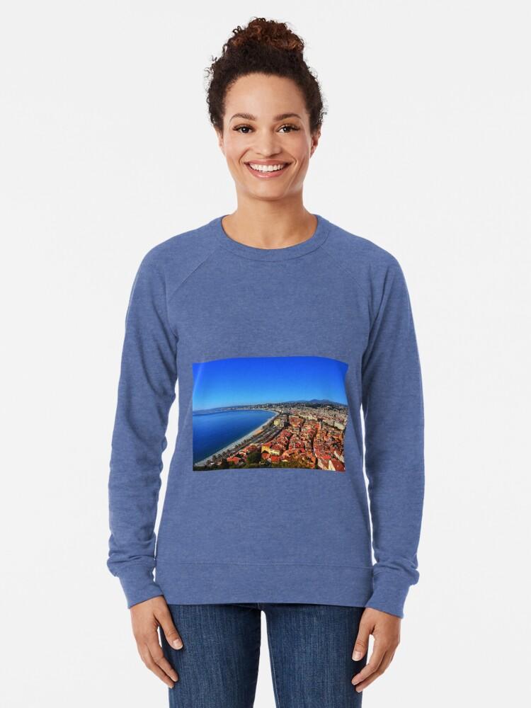 Alternate view of Nice France Lightweight Sweatshirt
