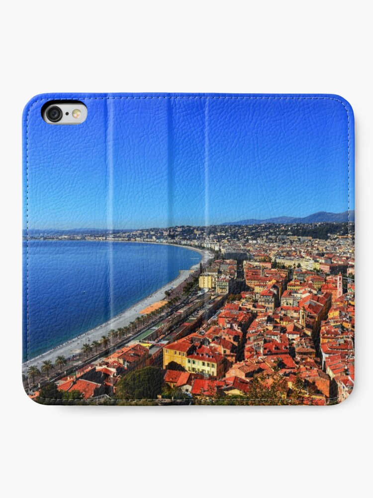 Alternate view of Nice France iPhone Wallet