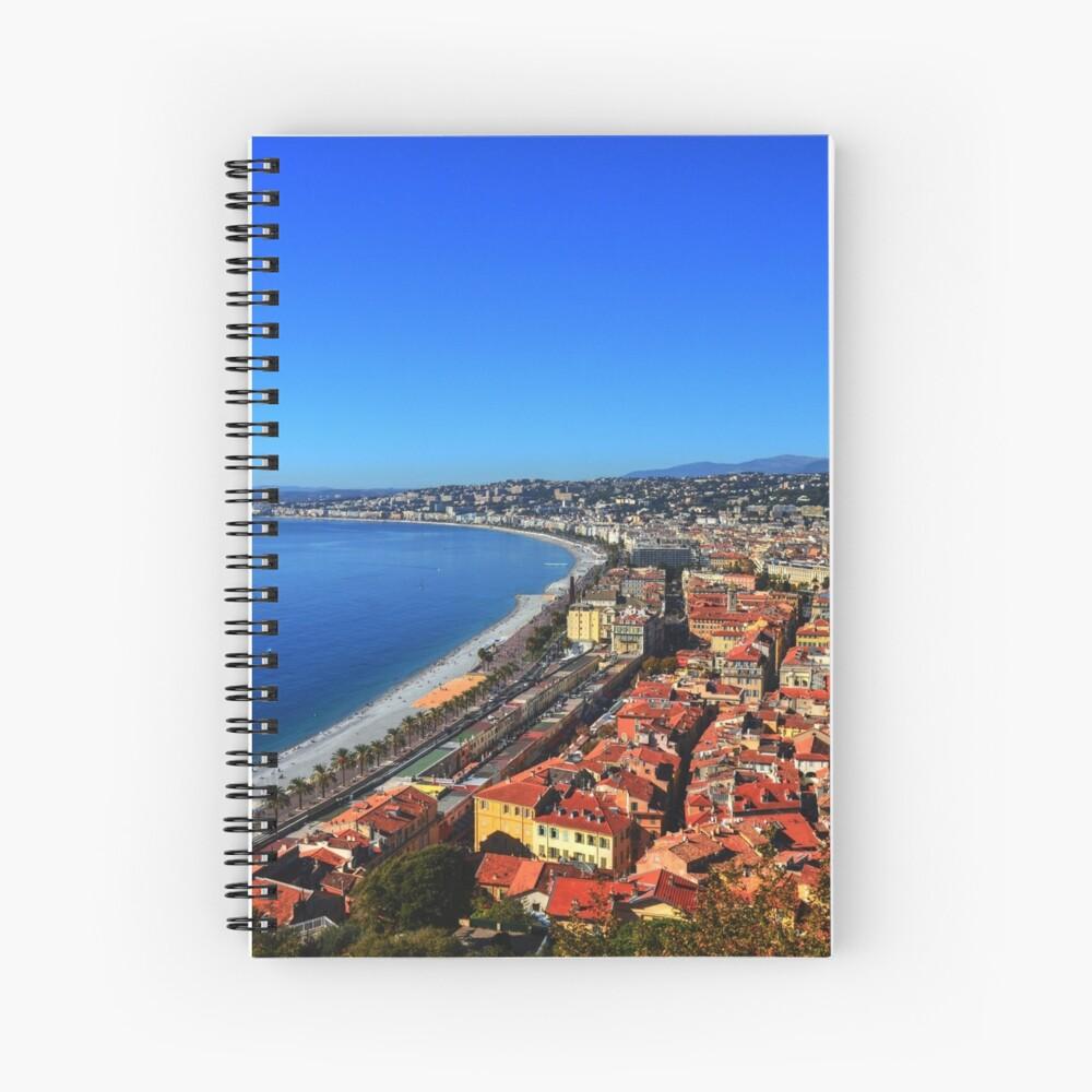 Nice France Spiral Notebook