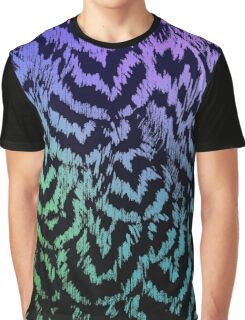 Rainbow Pencilled Rock Graphic T-Shirt