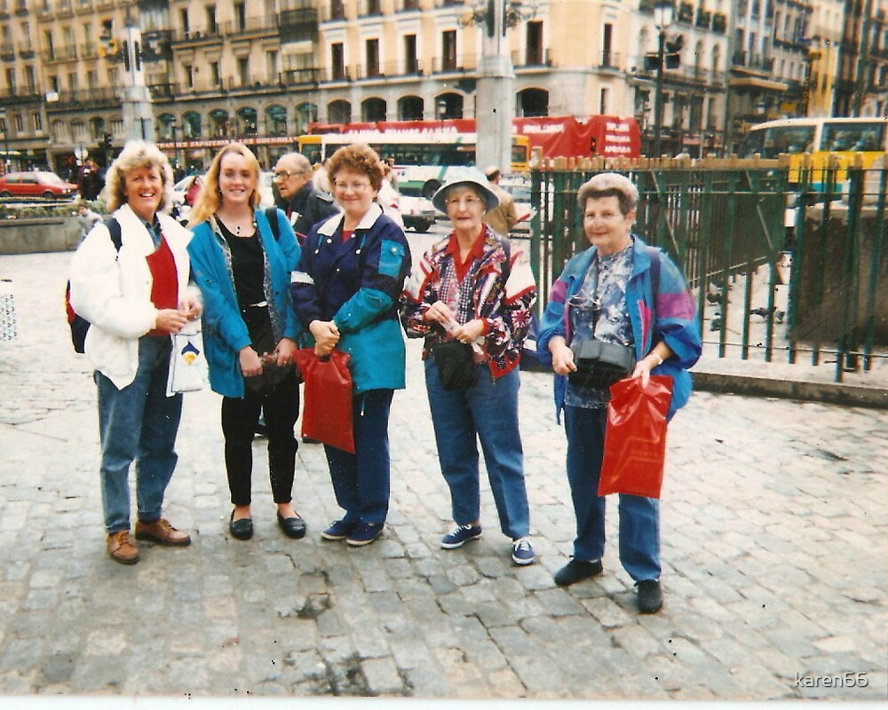 Me and My Friends in Madrid Spain by karen66