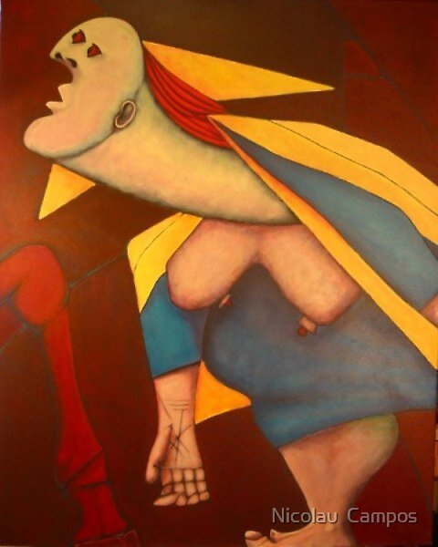 Fragment of Guernica 3 by Nicolau  Campos