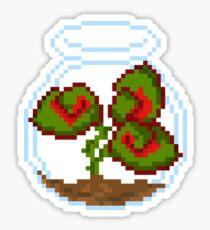Begonia in Jar Sticker