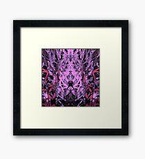 monstermash abstract Framed Print