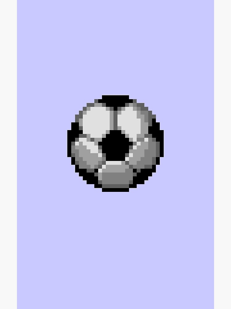 Balón De Fútbol Pixel Tarjetas De Felicitación