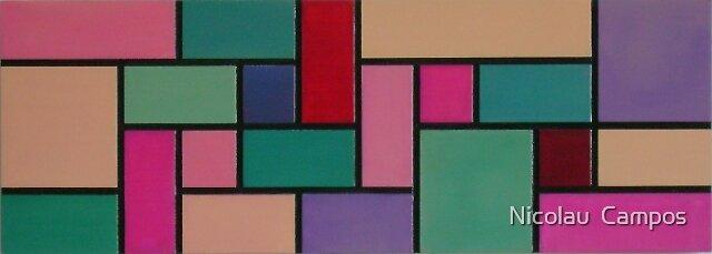 Geometric composition 2 by Nicolau  Campos