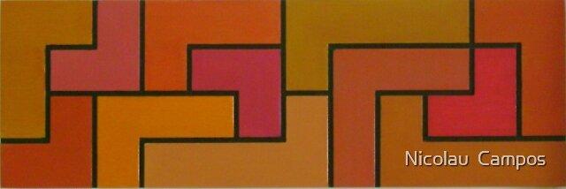Geometric composition 4 by Nicolau  Campos