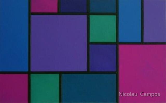 Geometric composition 13 by Nicolau  Campos
