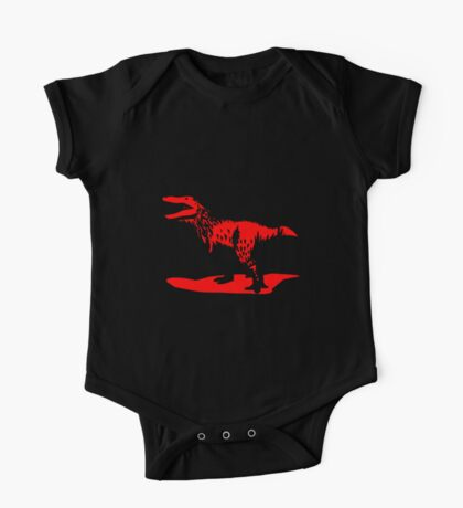 Tyrannosaurus rex loves science! Kids Clothes