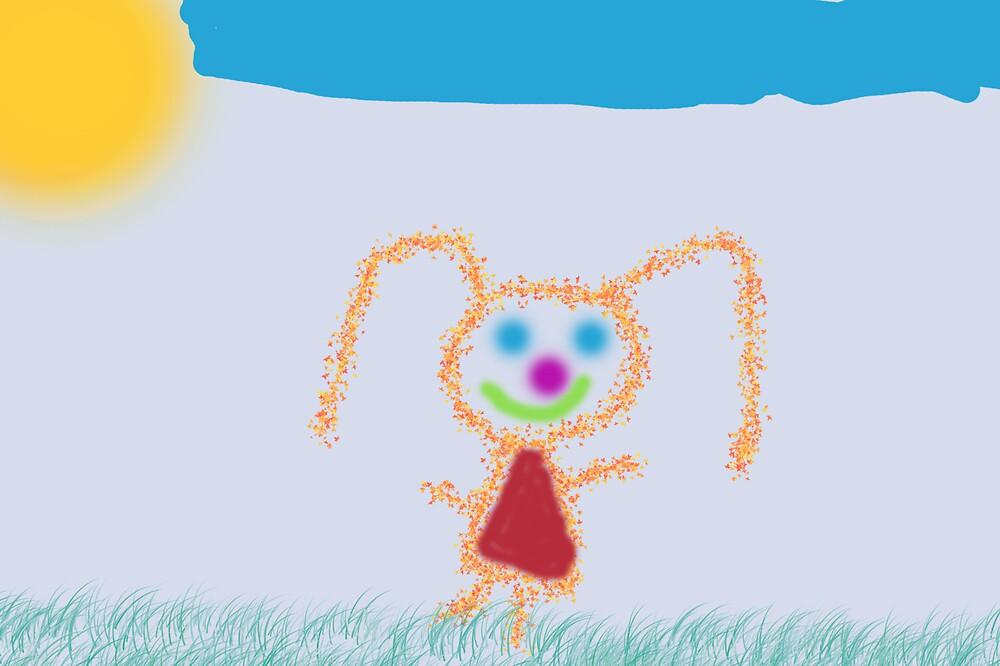 Happy Girl by Paul Vanzella