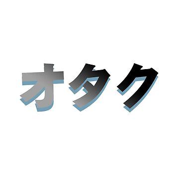 Otaku (gradient)  by diffy2009