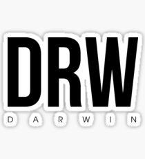 DRW - Darwin Airport Code Sticker