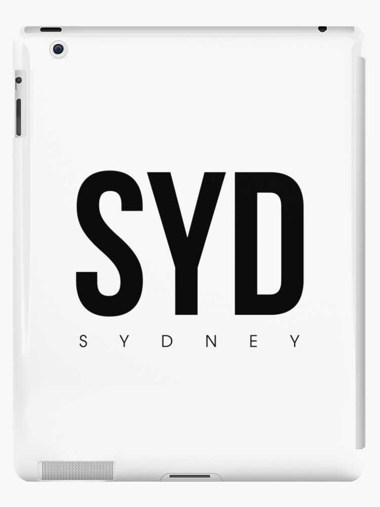 SYD - Sydney Airport Code by CartoCreative