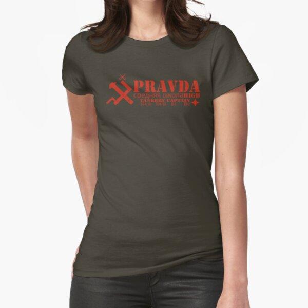 Pravda Team Shirt Fitted T-Shirt
