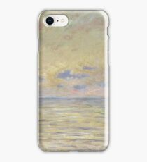 Claude Monet - Marine Near Etretat iPhone Case/Skin