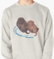 Handholding Otters Pullover