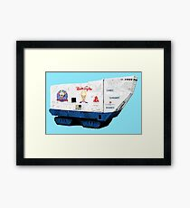 Mr. Softie Land Crawler Framed Print