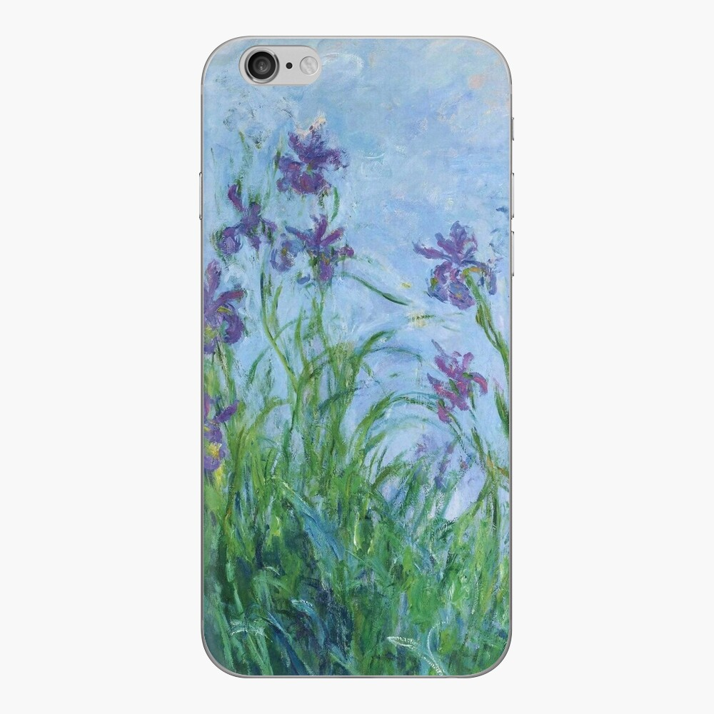 Claude Monet - Flieder Iris, 1914 iPhone-Hüllen & Cover