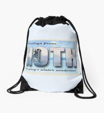 Hoth Postcard Drawstring Bag