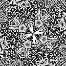Black and White Doodle by gretzky