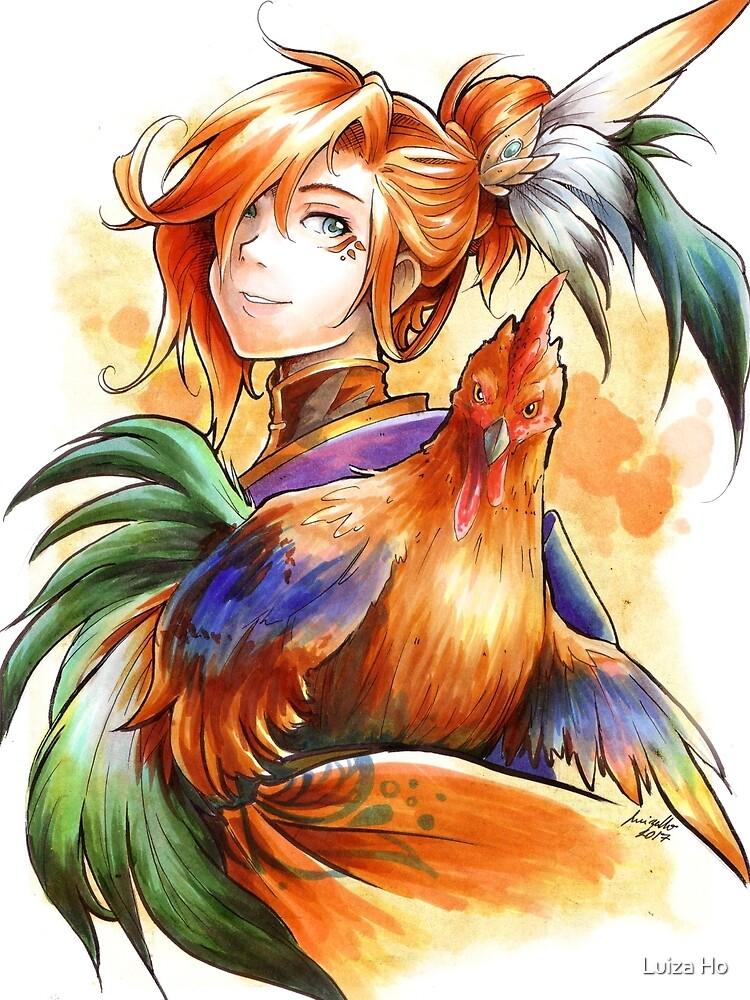 Year of the Rooster by teapotsandhats