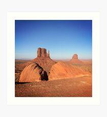 Mitten Buttes, Monument Valley Art Print