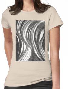Eye Scream - blackened Womens Fitted T-Shirt