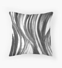 Eye Scream - blackened Throw Pillow