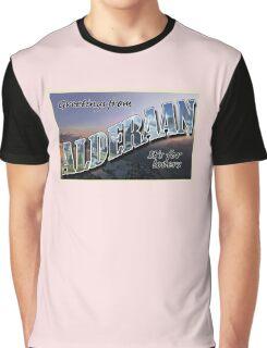 Alderaan Postcard Graphic T-Shirt