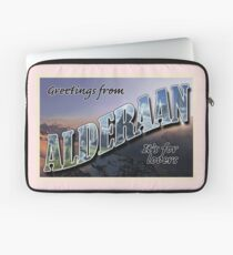 Alderaan Postcard Laptop Sleeve