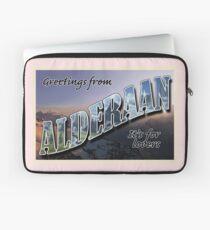 Alderaan Postkarte Laptoptasche