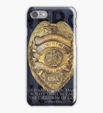 Blessed Are the Peacemakers iPhone Case/Skin