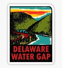 Delaware Water Gap Vintage Travel Decal Sticker