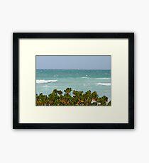 Gulf Of Mexico Framed Print