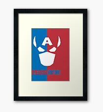 American Captain Framed Print
