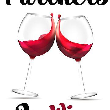 Partners In Wine by obelixdesign