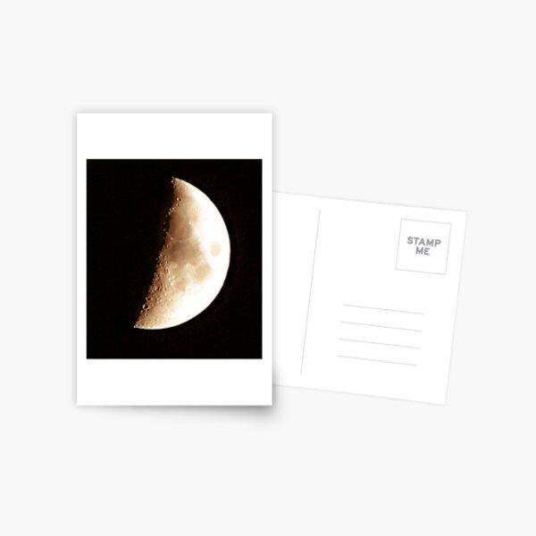 A Moon Shot Postcard