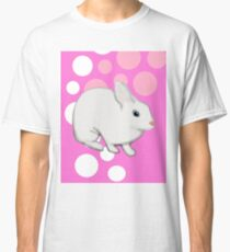 Osterhasen-Kaninchen-Rosa Classic T-Shirt
