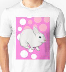 Osterhasen-Kaninchen-Rosa Unisex T-Shirt