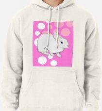 Osterhasen-Kaninchen-Rosa Hoodie